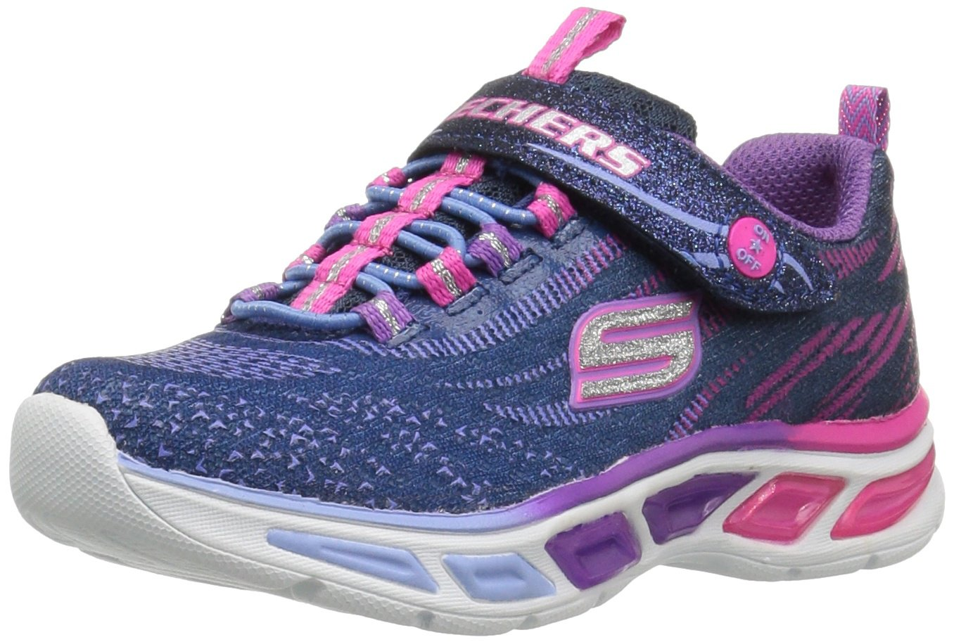 Skechers Girl's, S Lights Litebeams Slip on Sneaker Skechers Girl' s