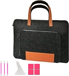 Hand-held Protective Bag for A4 Light Pad, Diamond Painting Tools Accessories - Laptop Case with Diamond Painting pens, Scraper and Plate