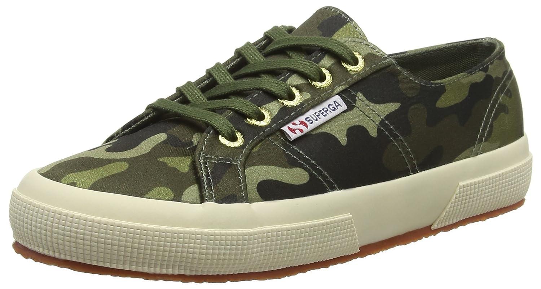 SUPEK #Superga 2750-Rasocamow, Zapatillas para Mujer EU 37 EU (Green Camo A15)