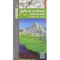 Valle De Canfranc - Valle De Aísa 1: 25.000