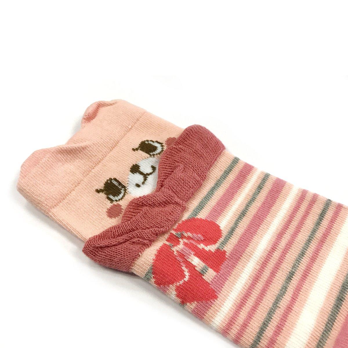 Bowbear Baby 3-Pair Half Ruffle Leg Warmers