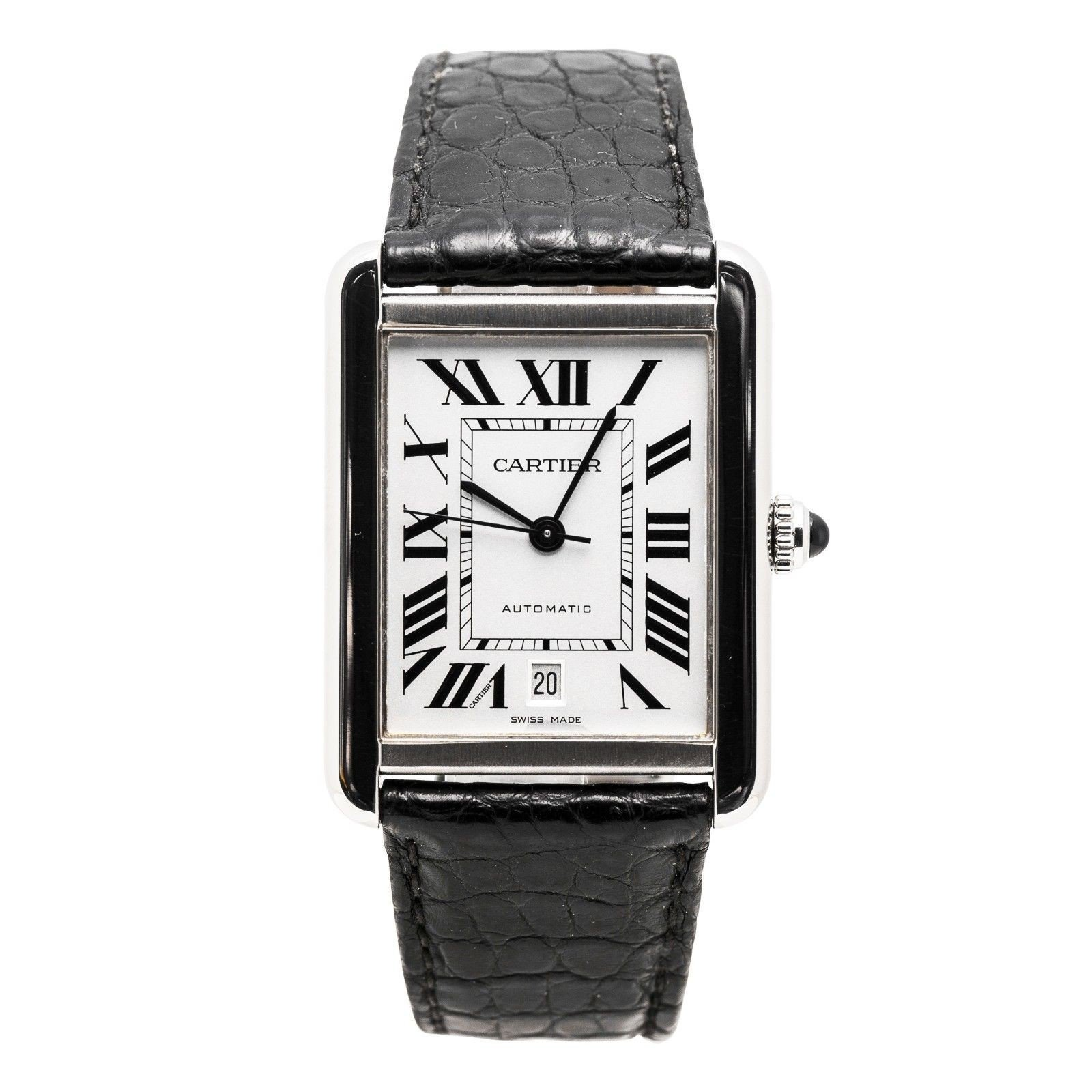 Cartier Tank XL automatic-self-wind mens Watch 3515 (Certified Pre-owned) by Cartier (Image #1)