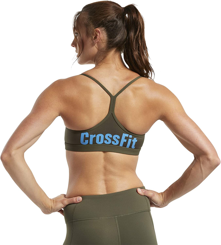 Reebok Brassi/ère Femme Crossfit/® Skinny Strap Read Medium-Impact