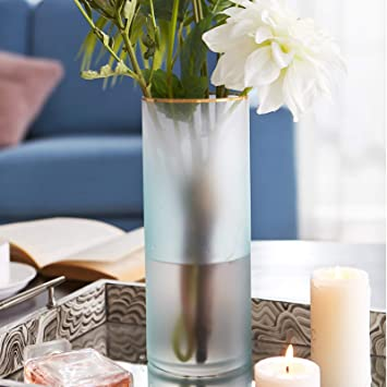 Amazon Cyl Home Vases Hurricane Candleholders Frosted