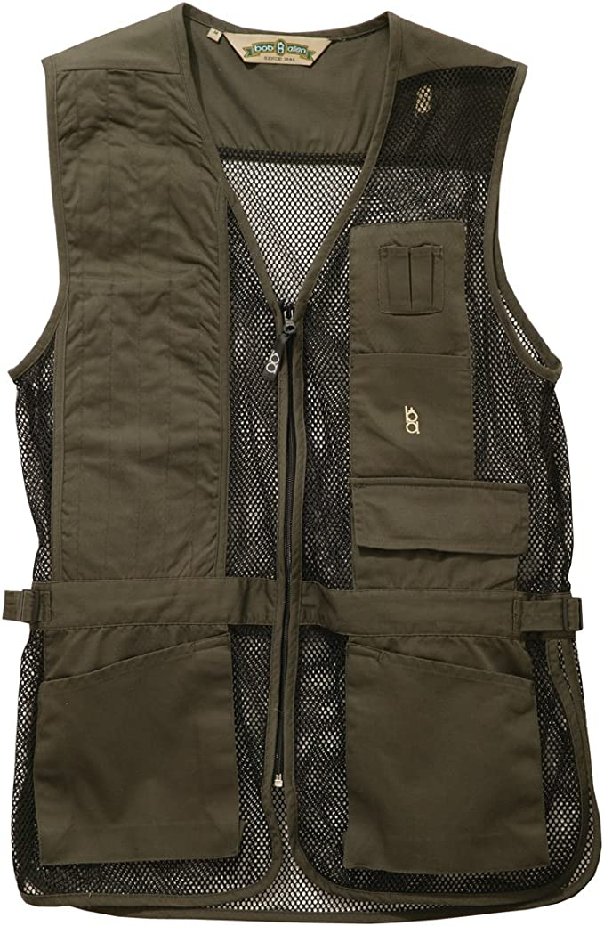 Bob-Allen Shooting Vest, Right Handed, Sage, X-Large