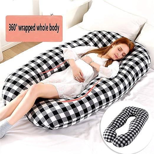 Almohada de embarazo para todo el cuerpo: en forma de U ...