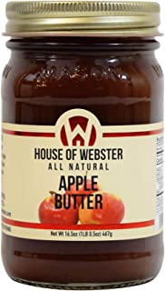product image for House of Webster All Natural Apple Butter Fruit Spread 16.5 oz