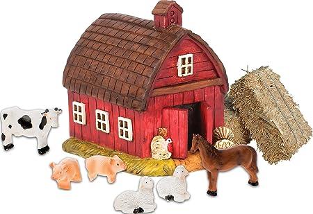 Miniature Fairy Garden Wagon w// Straw Bundle Buy 3 Save $5