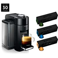 Nespresso Vertuo Coffee and Espresso Machine by De'Longhi with BEST SELLING COFFEES INCLUDED