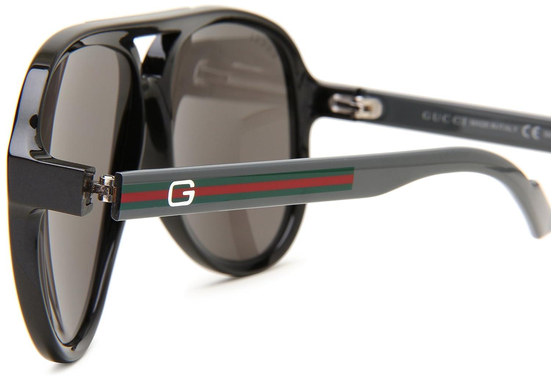 ac9ae37fd5 Gucci Gafas de sol Para Hombre 1627/S - Q20/B8: Plomo/Gris: Amazon.es: Ropa  y accesorios