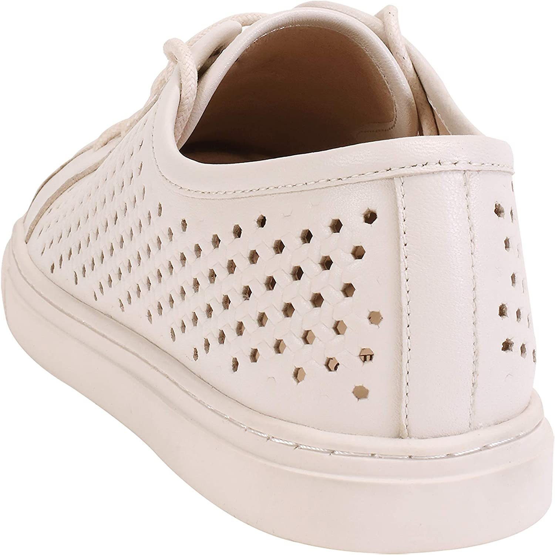 ekonika Damen Sneaker mit Schnürung Hellbeige
