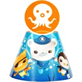 The Octonauts Party Supplies - Cone Hats (8)