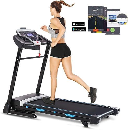ANCHEER Folding Treadmill
