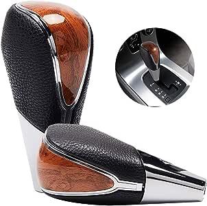 Semoss Universal Pomo Palanca de Cambios Automatico Caja de Cambios Marrón para Coches Camións Furgonetas SUVs: Amazon.es: Coche y moto