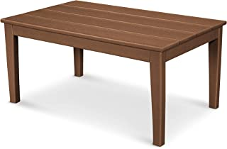 "product image for POLYWOOD Newport 22"" x 36"" Coffee Table, Teak"