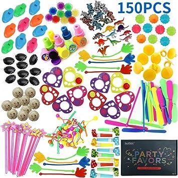 Amy&Benton 150 Piezas Relleno Pinata Infantil Juguetes,Unidades para niños Niños y Niñas piñata cumpleaños Infantil cumpleaños Partido Regalos