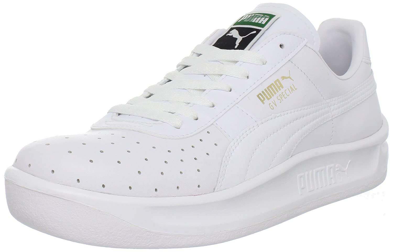 PUMA Men's GV Special Fashion Sneaker B0058XF3TC 10.5 M US|White/White