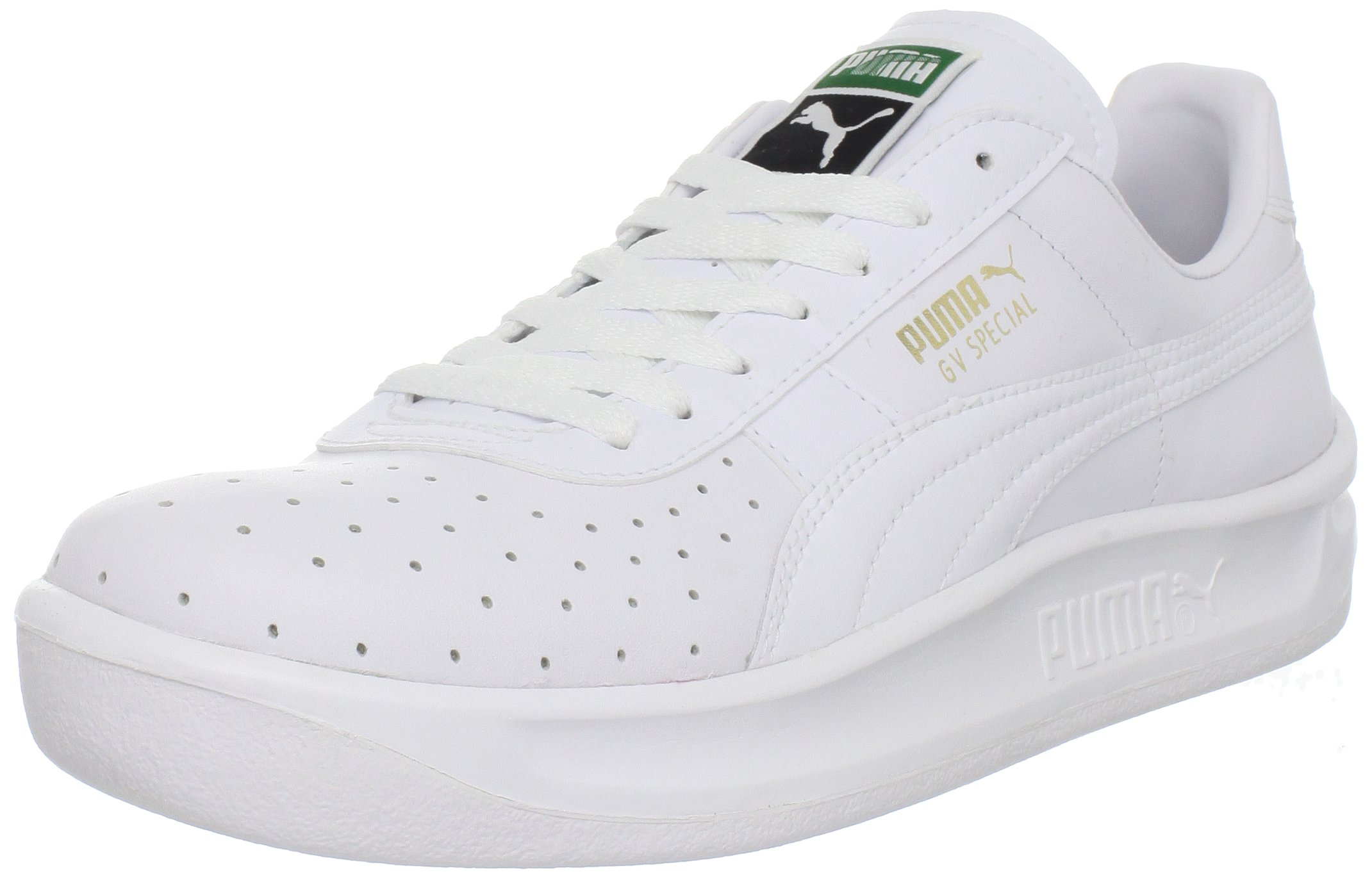 PUMA Men's GV Special Lace-Up Fashion Sneaker, White/White, 11 M US by PUMA