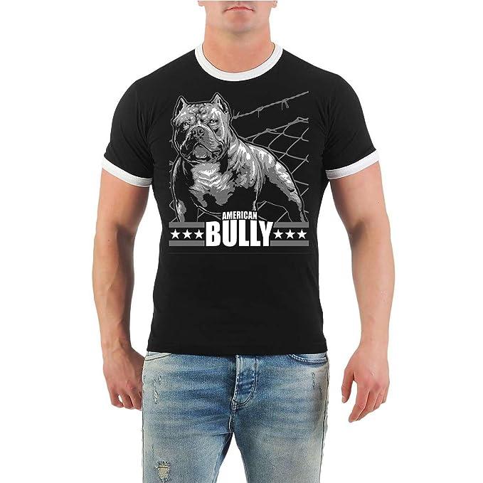 Männer und Herren T-Shirt American Bully Machine Größe S - 8XL: Amazon.de:  Bekleidung