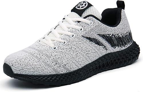 Chaussures de Course Basket Homme Femme Outdoor Running Sport Sneakers Gym Fitness Athlétique Marche Respirantes