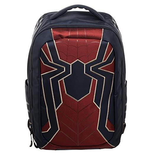 Amazon.com: Avengers: Infinity War Iron Spider Built Up Laptop Backpack Standard: FUNcom