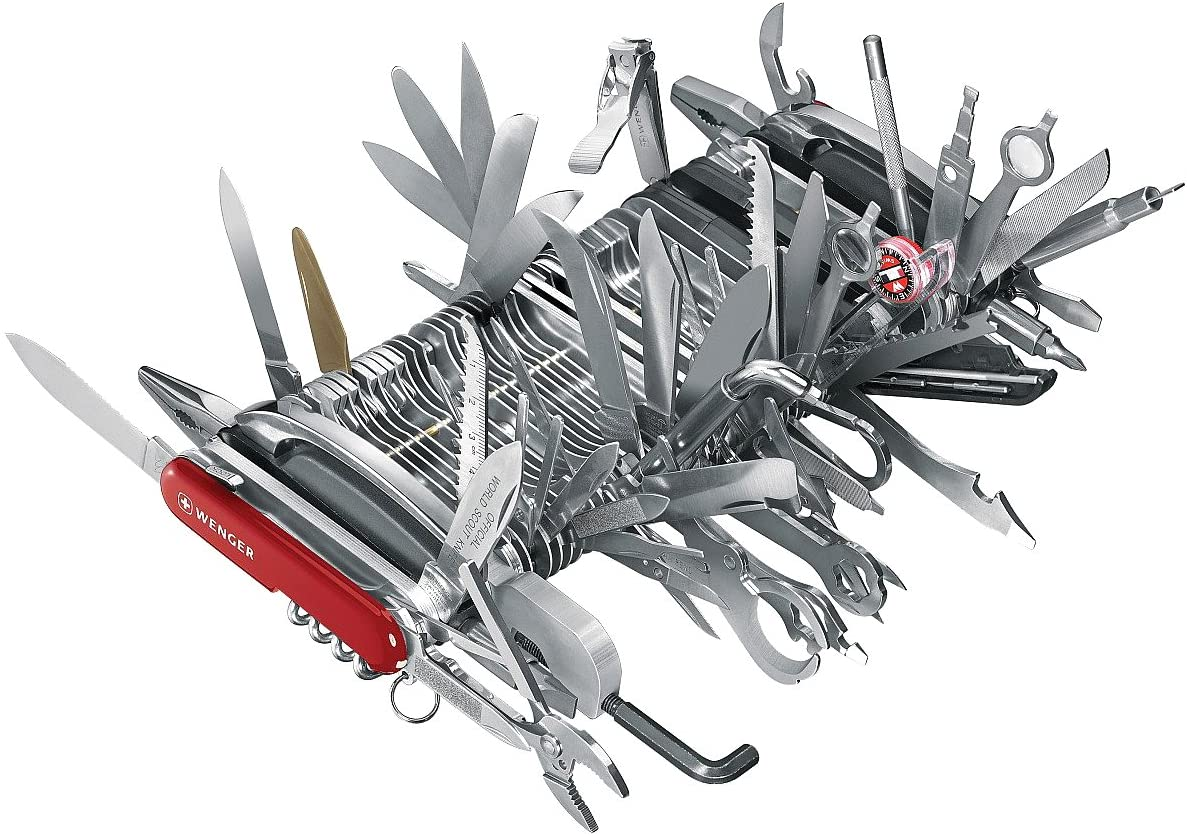 Wenger 16999 Swiss Army Knife Giant - Most Expensive Item On ...
