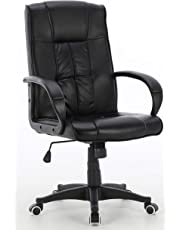 Millhouse Executive Office Chair, Durable and Stable, Height Adjustable (Stilo Black)
