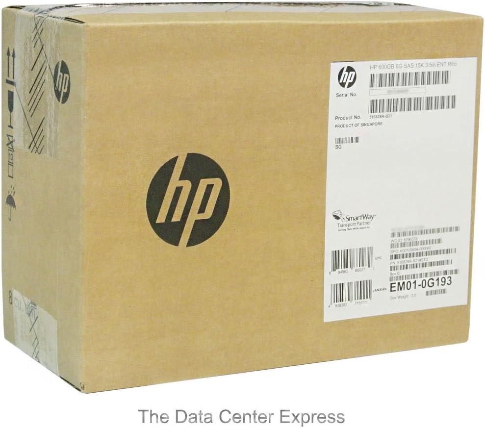 HP 600GB 6G SAS 15K 3.5 Hot Plug Hard Drive 516828-B21