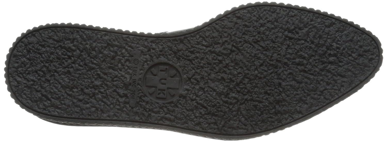 TUK Pointed Creeper Unisex-Erwachsene Sneaker Schwarz Schwarz Sneaker (Noir (schwarz Leder With Monk Buckle)) 2a031f