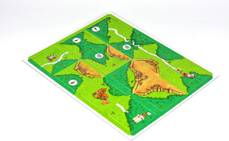 Desconocido El Monte del Duque, expansión de Carcassonne: Amazon.es: Juguetes y juegos