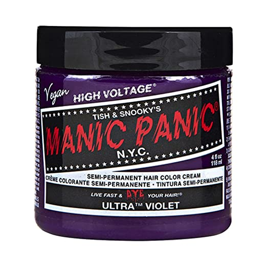 Ultra Violet Purple Manic Panic 4 Oz Hair Dye by MyPartyShirt Review