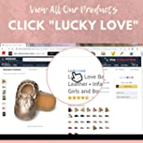 Lucky Love Baby Moccasins • Premium Leather