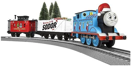 Amazon.com: Lionel Thomas Christmas Freight Train Set - O-Gauge ...