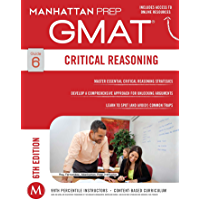 GMAT Critical Reasoning (Manhattan Prep GMAT Strategy Guides) (English Edition)