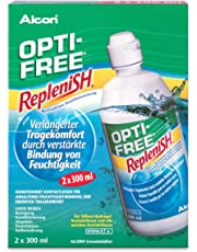 Opti Free Replenish Kontaktlinsen-Pflegemittel, Vorratspackung 2 x 300 ml