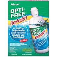 Opti-Free Replenish Contact Lens Solution (3 Months Pack) 2x300ml