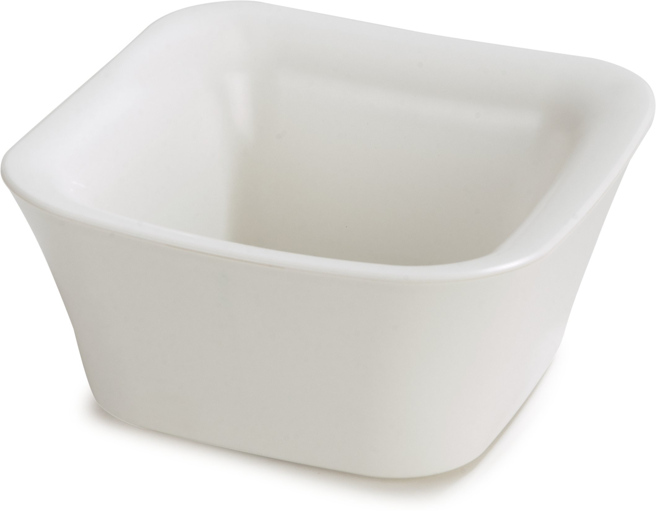 Carlisle CM140002 Coldmaster Insulated Square Serving Crock Only , 1 Quart, White