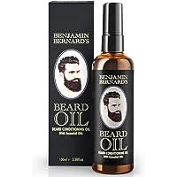 Beard Oil - Beard Grooming Conditioner Oil for Men by Benjamin Bernard - Encourage Healthy Beard Growth, Well-Groomed…