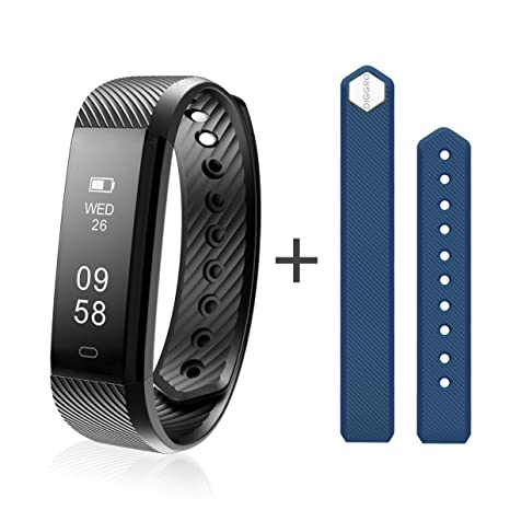Diggro ID115HR Smart Bracelet Heart Rate Bluetooth 4.0 Sports Pedometer Calorie IP67 Waterproof Sleep Monitor Call/SMS Reminder Sedentary Reminder for ...