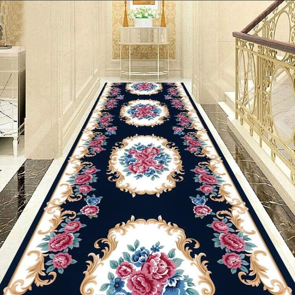 Mbd Carpet Simple Modern Living Room Porch Corridor Full Mat Mat Suitable for Consumers and Businesses Color : A, Size : 1.210m Soft and Cut