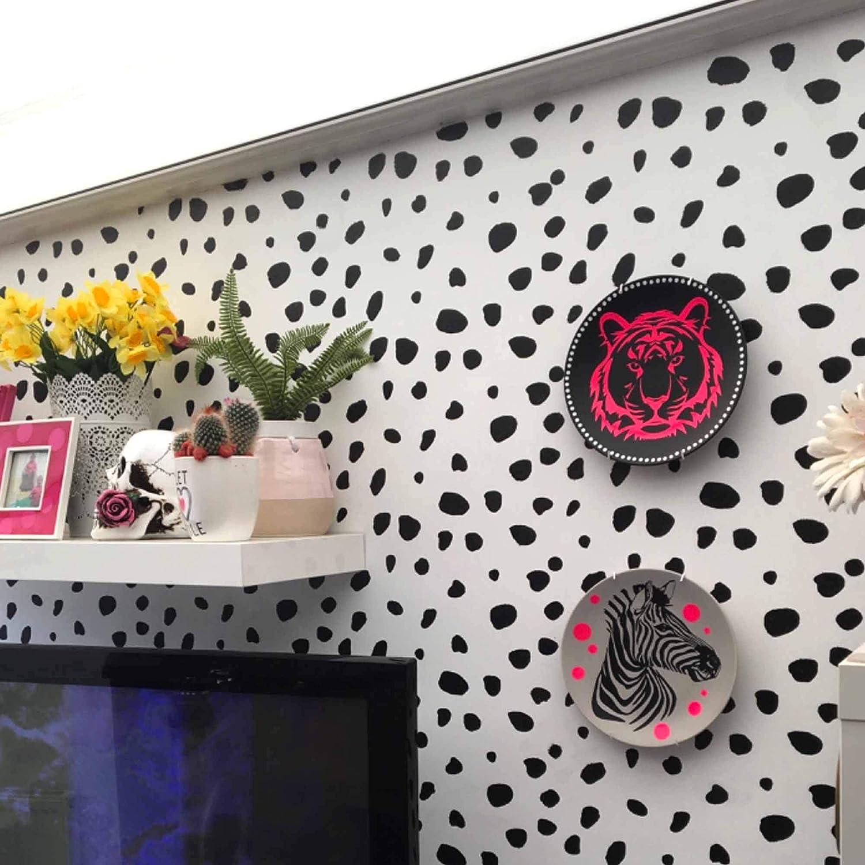 Dalmatian 320x Wall Stickers Polka Dot Wall Decals Hand Drawn Polka Dot Spots