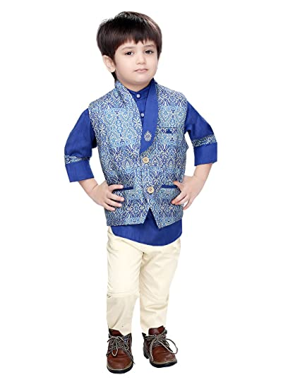 36cf14561 KOOKA KIDS Party Wear Boys Suit with Full Sleeves Shirt