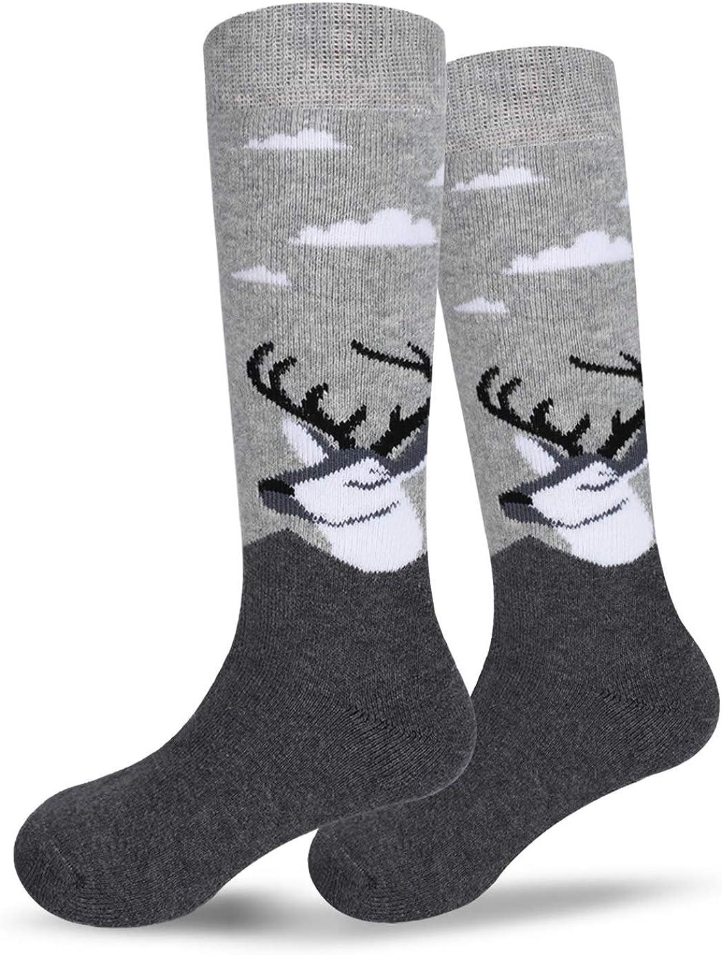 Ski Socks Kids Winter Warm Thermal Snow For Boys Girls(2pack /3pack): Clothing