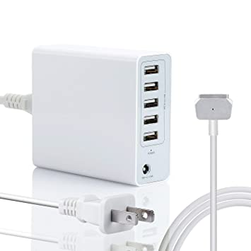 Amazon.com: wakeach Cargador de 85 W para Apple MacBook Pro ...