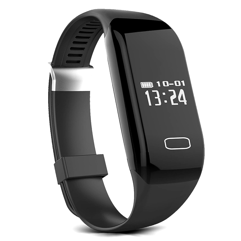 Hewitt Health Watch with Heart Censor Smartwatch (Black Strap ...