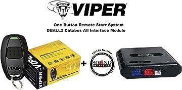 amazon com viper 1 way 1 button remote car starter 4115v with rh amazon com