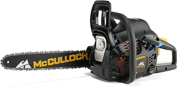 McCulloch CS42STE Cilindrada 42 cm3 Espada 40 cm Peso 5,5 Kg