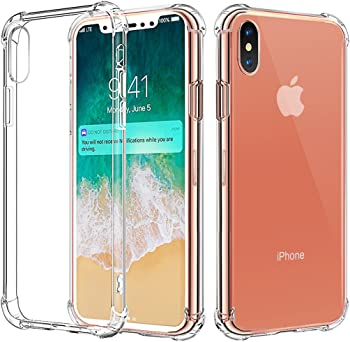 Comsoon iPhone X TPU Bumper Slim Protective Case Cover