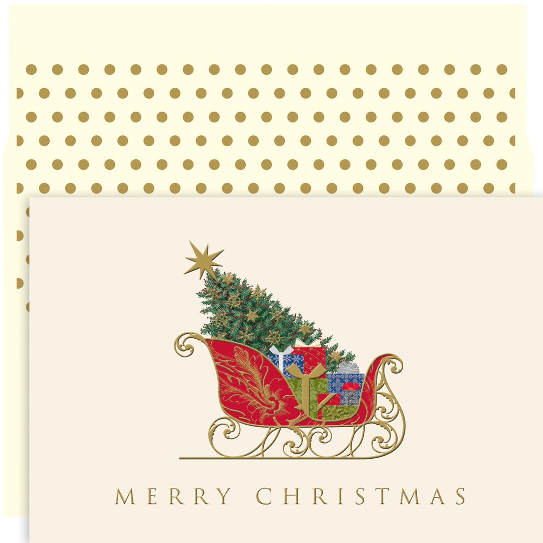 Masterpiece Studios クリスマスそり 封筒 B01IDB4EOA