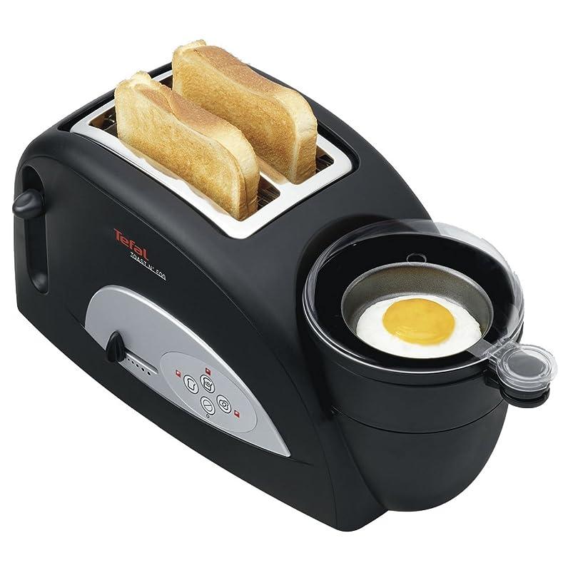 Grille-pain de tranche de Tefal 2 et cuiseur d'oeufs - TT550015 ...